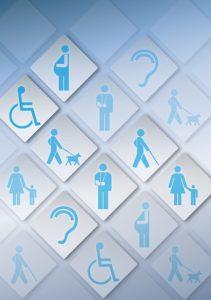 Logo d'accessibilité