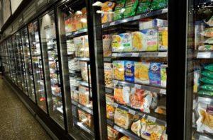 Armoire surgelé supermarché