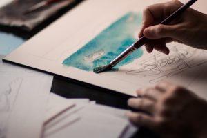 esquice aquarelle-Jean-Baptiste Gouraud