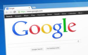 Pagge accueil Google