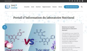 site information nutraceutique