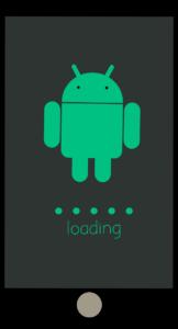 Ecran de chargement android