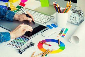 graphistes ou designers avec leurs clients